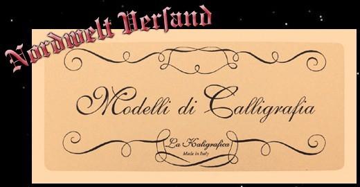 Kalligrafie Anleitung und Vorlagen