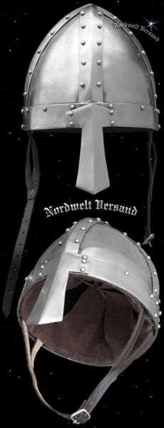 Wikingerhelm Normannenhelm mit Nasenschutz Helm der Wikinger und Normannen