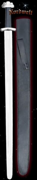 Wikinger Schaukampfschwert mit Lederscheide