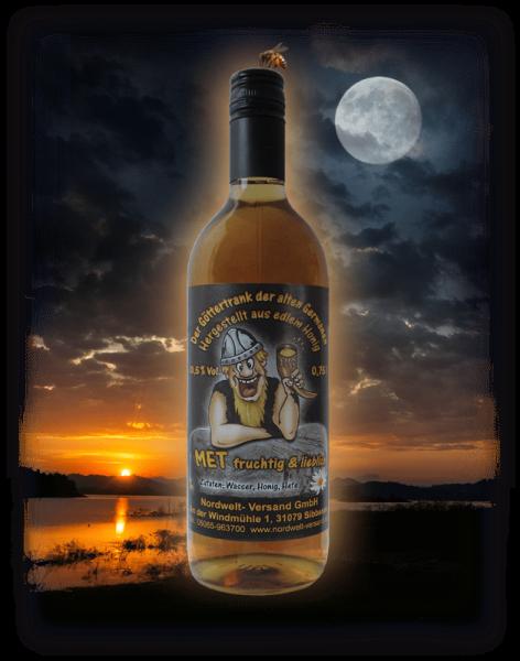 Honigwein Met fruchtig lieblich süßer Wein aus Honig