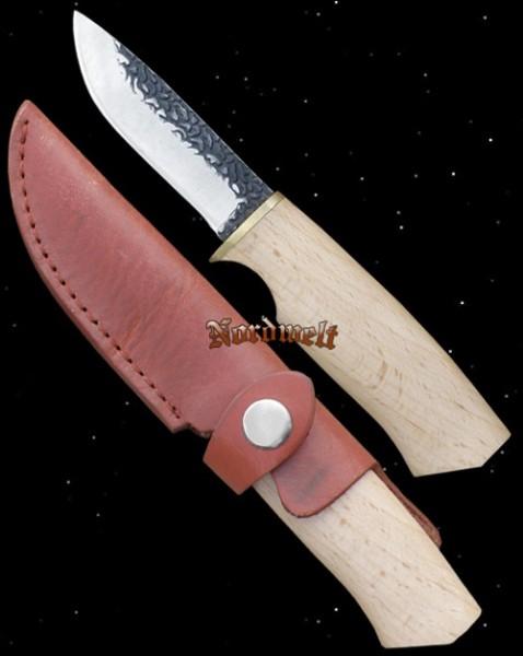 Reenactment LARP Messer Gebrauchsmesser Schmiedespuren Mittelalter