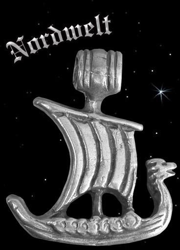Anhänger Wikingerschiff, 925er Silber