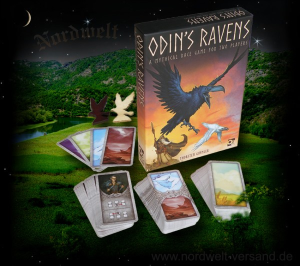 Odins Raben Wikinger Spiele Hugin und Munin fliegen um die Welt