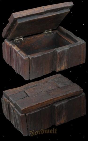 Holztruhe mittelalterliche Schmuckdose Vorratsdose