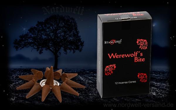 Werwolf-Biss Räucherkerze Räucherkegel Räucherhüte Stamford Werewolf bite
