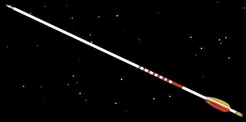 Flämisch gespleißte Sehne 115 cm für Reiiterbogen 16 Strang