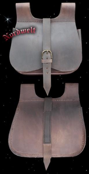 Mittelalter Nieren Tasche aus Leder