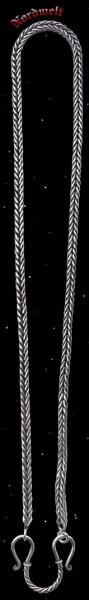 Wikinger Königskette 47 oder 57 ! cm, 925er Silber