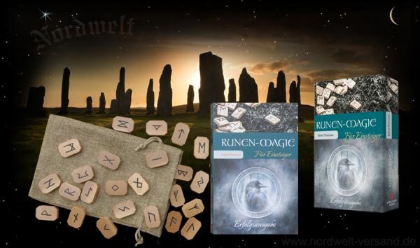 Runen Magie für Einsteiger Edred Thorsson Runenmagie mit 24 Runensteine