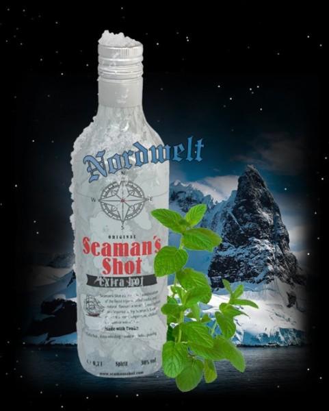 Seaman´s Shot Menthol und Eukalyptus Schnaps Likör