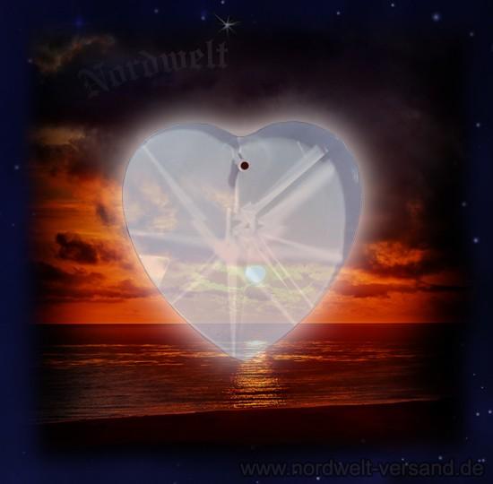 Herz Bleikristall Kristall Glas Herz Kristallglas Anhänger Dekoration