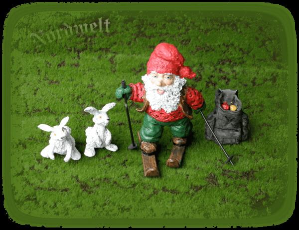 Zwerg Skandinavien Figur nordischer Brauchtum Zwerge Weihnachten
