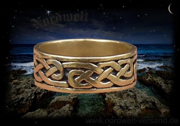 Keltisch-irischer Ring, bronze