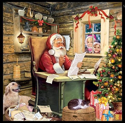Nostalgie Julfest Julfeier Servietten Papierservietten heidnischer Brauchtum