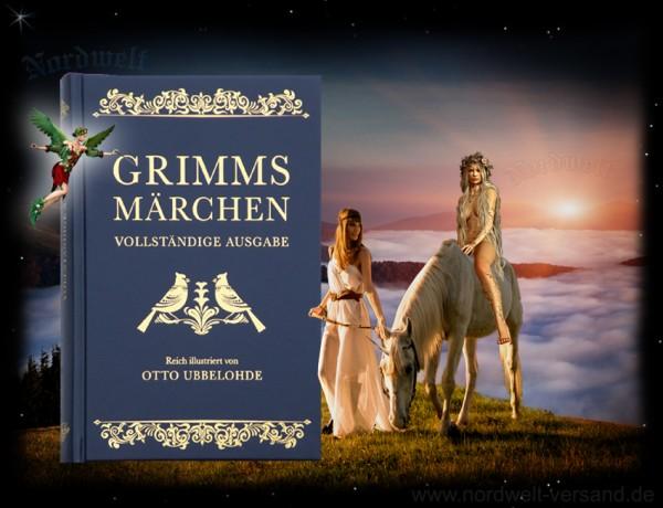 Jacob und Wilhelm Grimm - Grimms Märchen Mythen Buch Kinder- Hausmärchen legenden