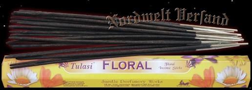 Räucherstäbchen Blüten Floral Tulasi Blumen- Duft räuchern Räucher- Stäbchen