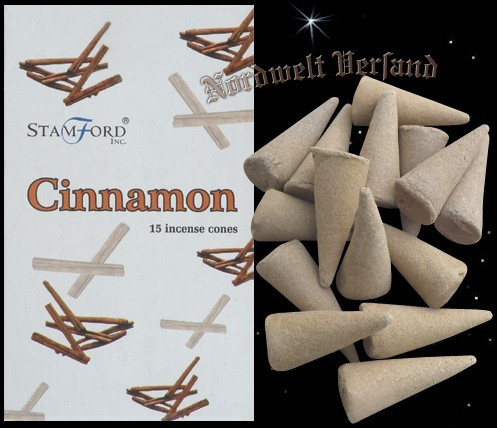 Räucherkegel Zimt Cinnamon Räucherkerzen Räucherhüte