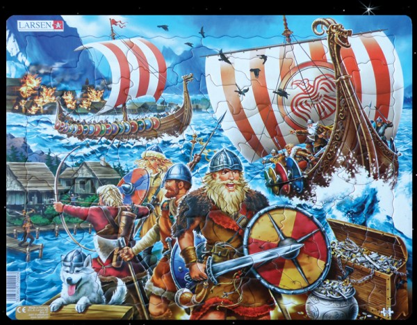 "Puzzle ""Viking Attack"" - 65 pieces"