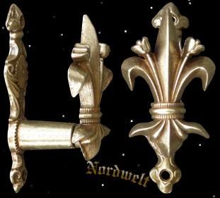 Halterung für Schwerter und Pistole Wandhalterung für Waffen