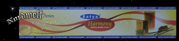 Harmonie Räucherstäbchen Satya Nag Champa Harmony Yoga-Serie