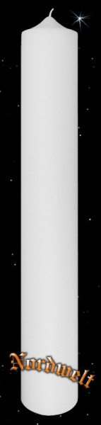 Altarkerze Stabkerze XXL Dochtkerze XXXL sehr große Kerze für Odins Götteraltar