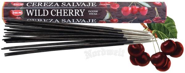 Räucherstäbchen Cherry Räucherkegel Zubehör Kirsche Tulasi Kirschduft räuchern Räucher- Stäbchen