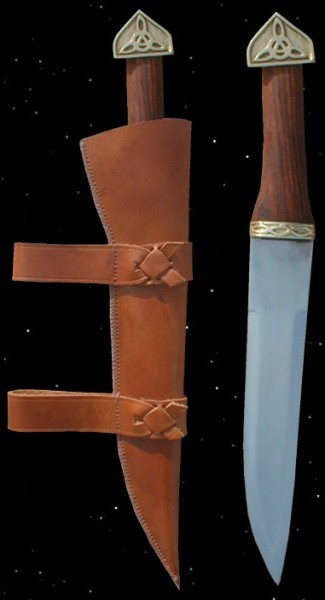 Wikinger Sax scharf geschliffen Wikingersax Messer Kurzschwert