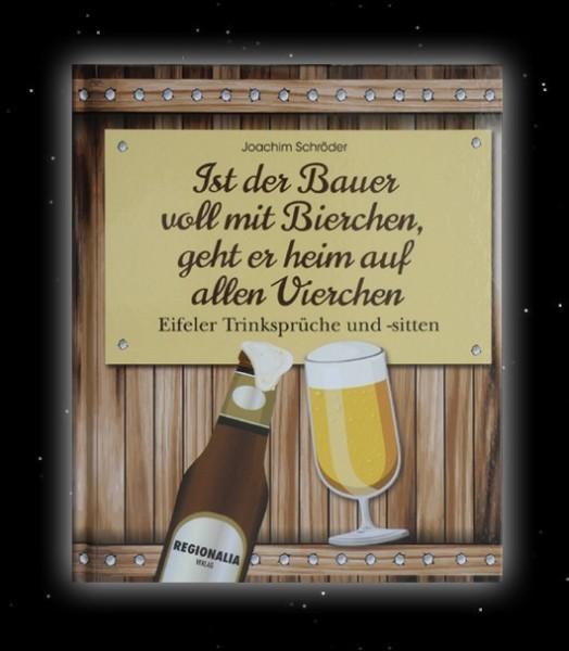 Buch Ist der Bauer voll mit Bierchen, geht er heim auf allen Vierchen Joachim Schröder