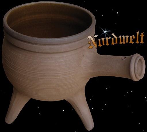 Wikinger Topf Mittelalter Keramiktopf
