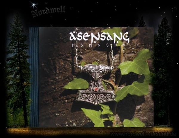 Asensang Pagan Musik CD mit Thorhammer, heidnische Naturreligion