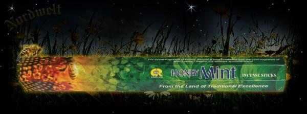 Honig Minze Räucherstäbchen Honey mint räuchern Räucherkegel und Räucher Zubehör
