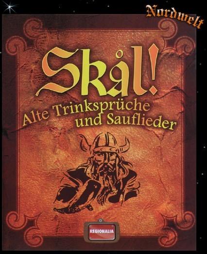 Buch Skål! Alte Trinksprüche und Sauflieder Met und Honigwein Saufbuch