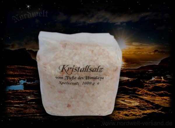 Himalaya Speisesalz Granulat Salzrange Pakistan Himalaysalz