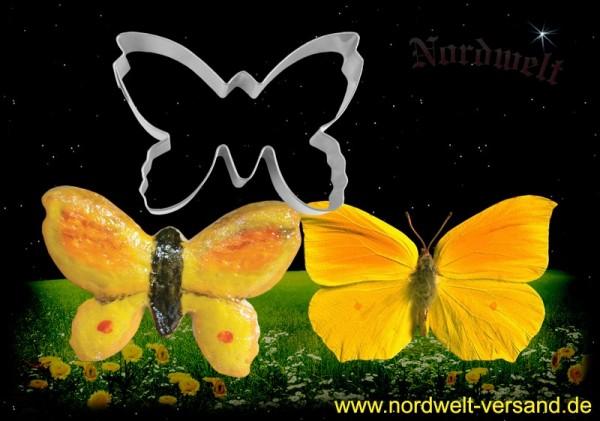 "Teigform ""Schmetterling"", Edelstahl"