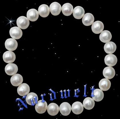 Süsswasserperlen Perlenkette Armband aus Perlen
