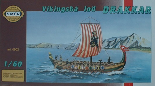Modellbau Wikingerkriegsschiff