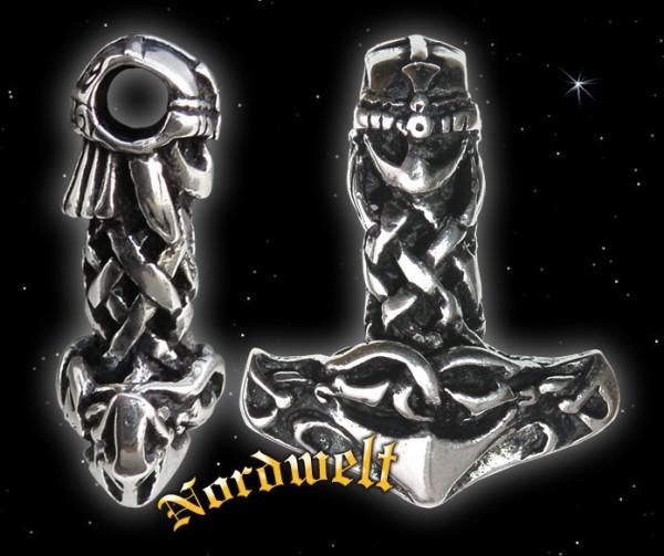 """Thorhammer """"Wikinger"""" - 925er Silber"""