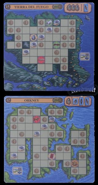 2 Inseln Erweiterung Ein Fest für Odin zwei Inselkarten