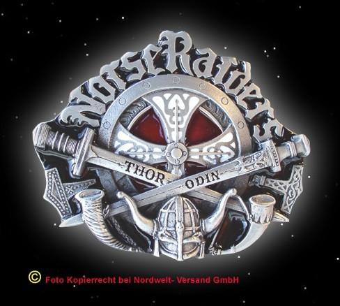 """Gürtelschnalle """"Norse Raiders"""" (Nordischer Angriff)"""