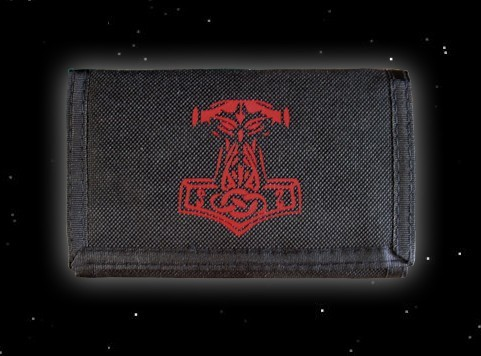 Portemonnaie Portmonee Thorhammer Thors Hammer Geldbörse Mjölnir