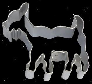 Teigform Zähneknisterer Zähneknirscher Ausstechform Thors Ziegen Symbolgebäck Kekse backen