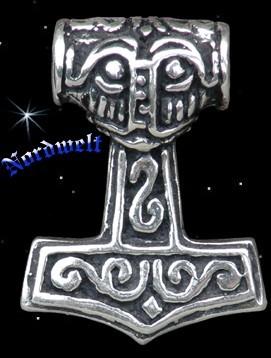 Thorhammer Nordmann klein - 925er Silber