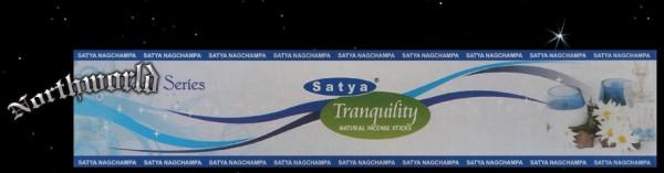 """Räucherstäbchen Satya Nag Champa """"Tranquility / Stille"""""""
