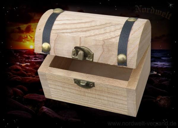 Holztruhe Schmuckdose Holzdose für kleine Geschenke Mini Schatzkiste für Schmuck
