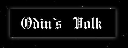 Odins Volk Aufkleber Autoaufkleber heidnische Symbole Asatru