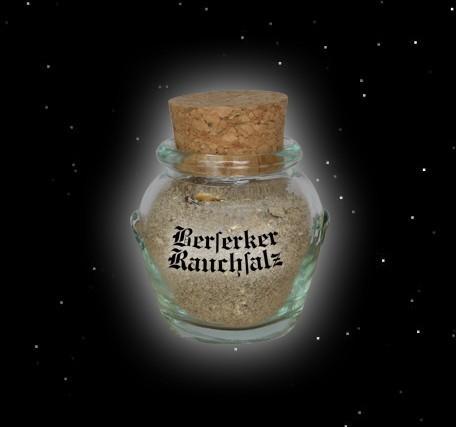 """""""Wikinger"""" Rauchsalz -Berserker (mit Edelpilzen - fein) Glas - 40 gr"""