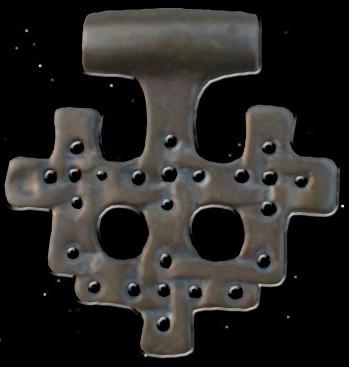 Hiddensee Anhänger, bronze