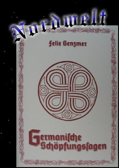 Germanische Schöpfungssagen Heft von Felix Genzmer heidnische Naturreligion Asatru Pagan