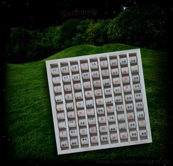Multiplizier-Tabelle / das kleine 1x1 - Einmaleins, Lernspiel für Vorschul- und Schulkinder