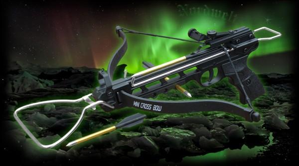 Armbrust Pistole mit Spannbügel 80 lbs
